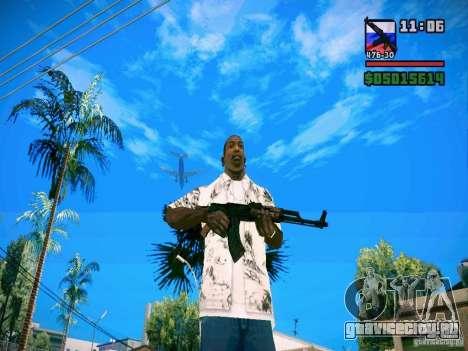 New Weapon Pack для GTA San Andreas второй скриншот