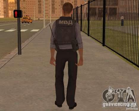 МВД РФ для GTA San Andreas второй скриншот