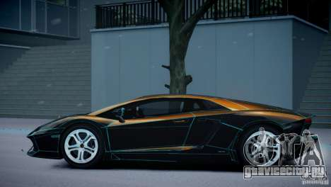 Lamborghini Aventador LP700-4 для GTA 4 вид сбоку