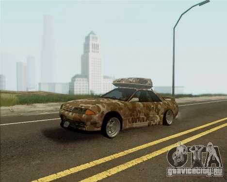 Nissan Skyline R33 Army для GTA San Andreas