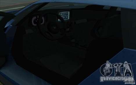 Marussia B2 2010 для GTA San Andreas вид сбоку