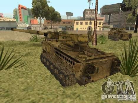 БМТВ M1128 MGS для GTA San Andreas вид справа