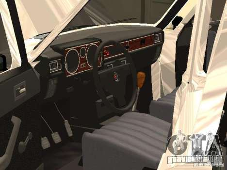 ГАЗ 24-10 для GTA San Andreas вид сверху