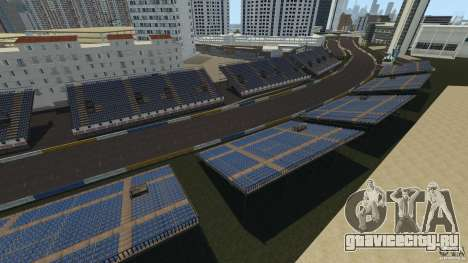 Long Beach Circuit [Beta] для GTA 4 второй скриншот