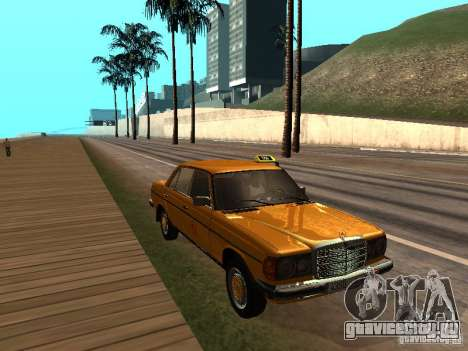 Mercedes-Benz 240D Taxi для GTA San Andreas