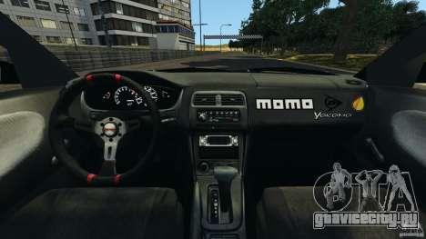 Nissan 240SX Kawabata Drift для GTA 4 вид сзади