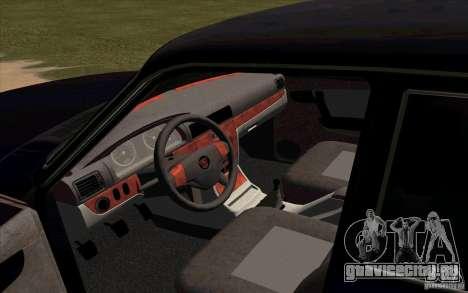 ГАЗ 31105 Рестайлинг для GTA San Andreas вид справа