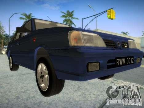 Daewoo-FSO Polonez Atu Plus 1.6 для GTA San Andreas вид слева