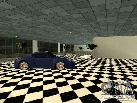 Автосалон Porsche для GTA San Andreas четвёртый скриншот