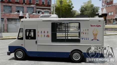 Новый фургон мороженщика для GTA 4 второй скриншот