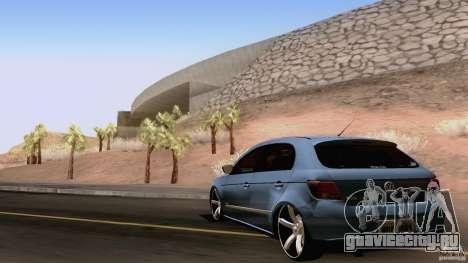 Volkswagen Golf G5 для GTA San Andreas вид справа