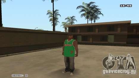 Skin Pack Groove Street для GTA San Andreas шестой скриншот