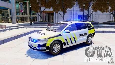 Volkswagen Passat B7 Variant 2012 для GTA 4