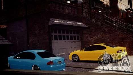 Holden Monaro для GTA 4 вид справа