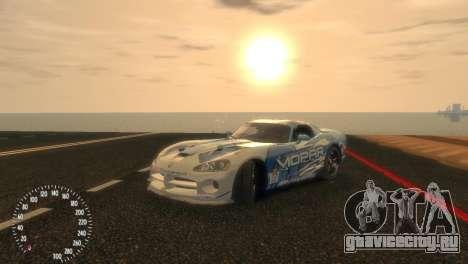 Dodge Viper SRT-10 Mopar Drift для GTA 4