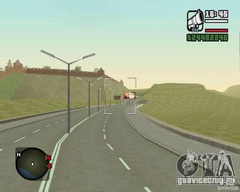 Дорога Лыткарино-Нижегородск для GTA San Andreas пятый скриншот