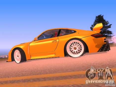 Porsche 911 Turbo Tuning для GTA San Andreas вид слева