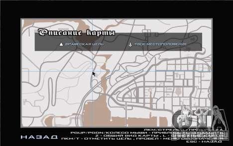 GTA V map для GTA San Andreas четвёртый скриншот