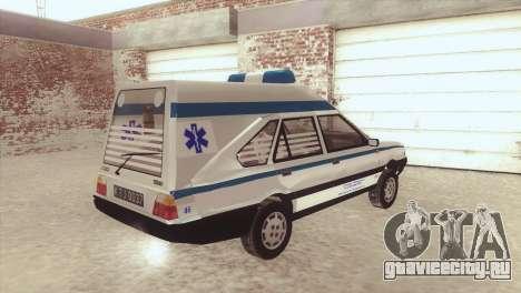 FSO Polonez Cargo MR94 Ambulance для GTA San Andreas вид слева