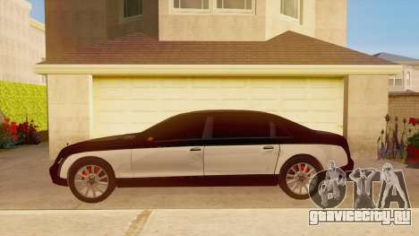 Maybach 62 для GTA San Andreas вид слева