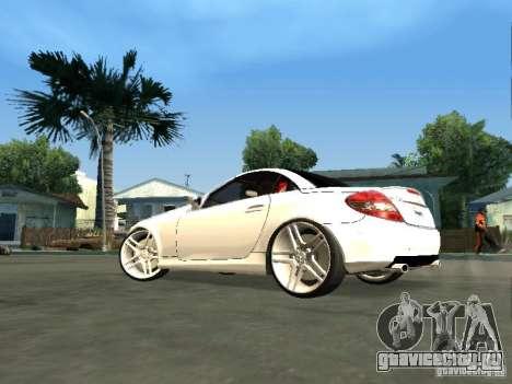 Mercedes Benz SLK 300 для GTA San Andreas вид слева