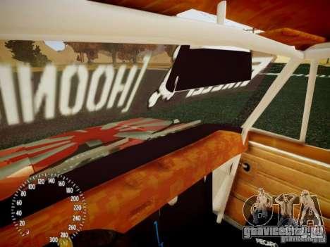 ВАЗ-2101 Drift Edition для GTA 4 вид сверху