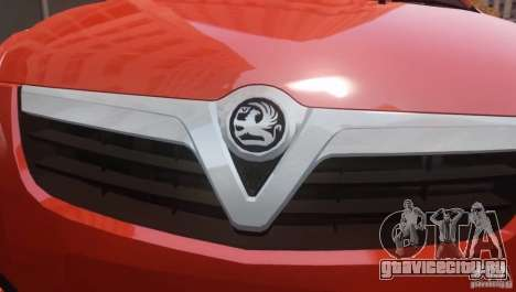 Vauxhall Agila 2011 для GTA 4 вид сзади слева