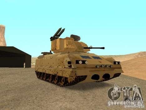 M2A3 Брэдли для GTA San Andreas