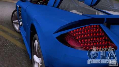 Porsche Carrera GT Custom для GTA San Andreas вид справа