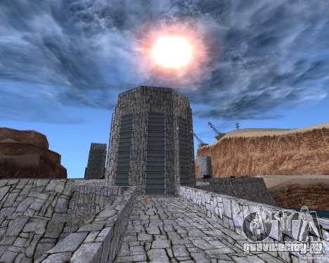 Новая текстура дамбы для GTA San Andreas третий скриншот