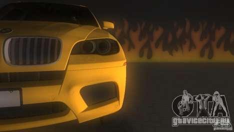 BMW X5 для GTA Vice City вид изнутри