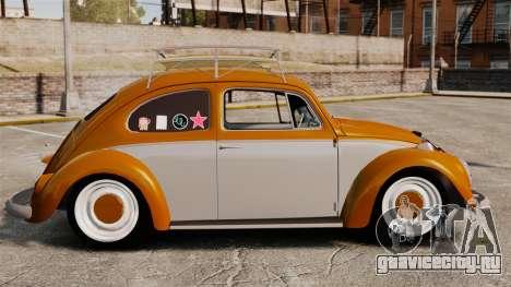 Volkswagen Fusca Edit для GTA 4 вид слева