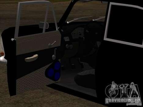 Москвич 408 Extra Style для GTA San Andreas вид сверху