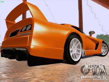 Dodge Viper GTS-R Concept для GTA San Andreas вид сзади слева