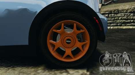 Mini Cooper S v1.3 для GTA 4 вид сверху