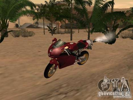 Ducati 999R для GTA San Andreas вид сбоку