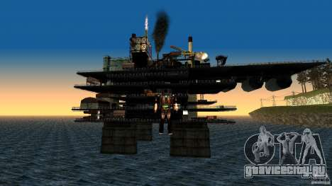 Нефтяная платформа в Лос-Сантос для GTA San Andreas второй скриншот