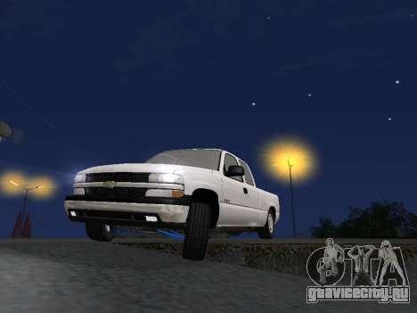 Chevorlet Silverado 2000 для GTA San Andreas салон
