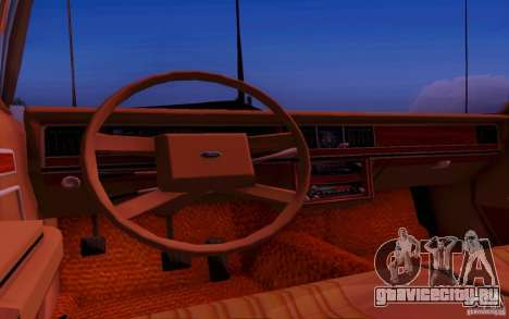 Ford Crown  Victoria LTD 1985 для GTA San Andreas вид сзади