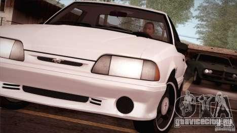 Ford Mustang SVT Cobra 1993 для GTA San Andreas