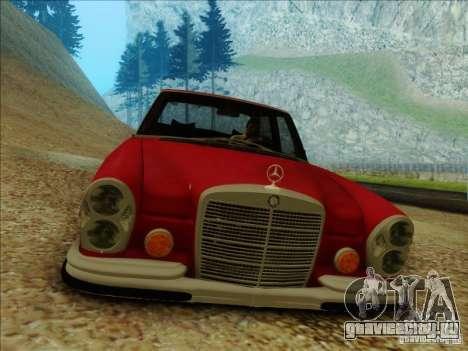 Mercedes-Benz 300 SEL для GTA San Andreas вид справа
