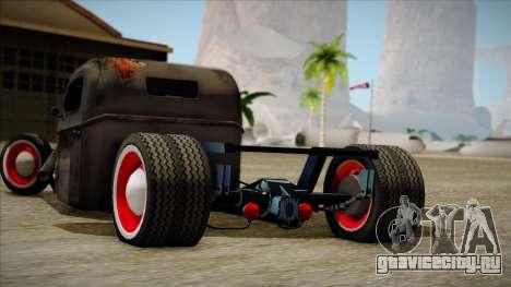 Rat Rod для GTA San Andreas вид сзади слева