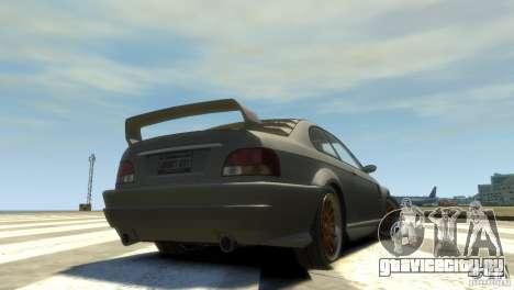 Sentinel Grand Sport для GTA 4 вид сзади слева