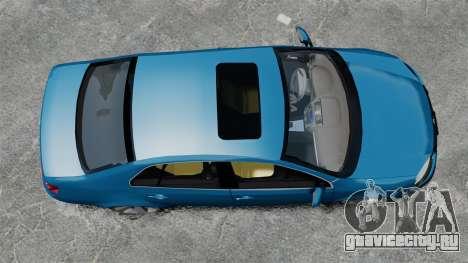 Volkswagen Jetta 2010 для GTA 4 вид справа