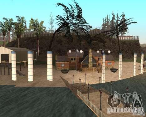 Вилла в Рыбацкой лагуне для GTA San Andreas