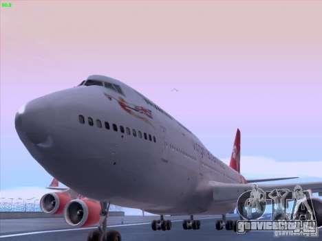 Boeing 747-4Q8 Lady Penelope для GTA San Andreas