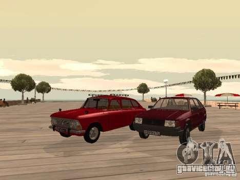 АЗЛК 2141 Москвич для GTA San Andreas вид сзади