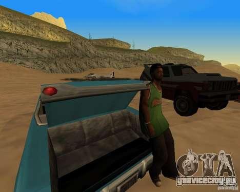 Пляжная вечиринка для GTA San Andreas третий скриншот