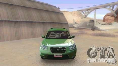 Hyundai Santa Fe 2009 для GTA San Andreas вид слева