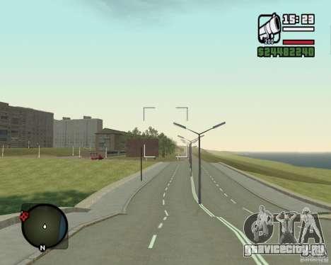 Дорога Лыткарино-Нижегородск для GTA San Andreas второй скриншот
